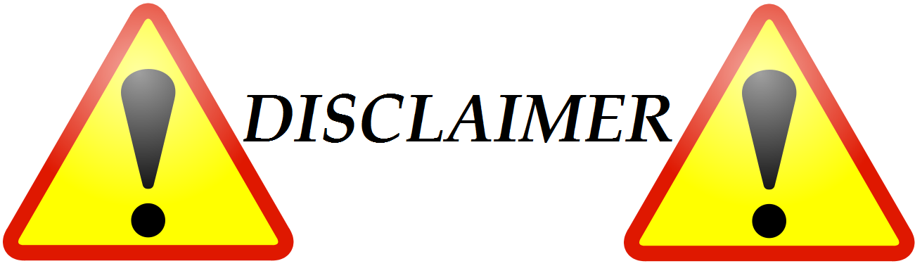 how to make disclaimer page in blogger
