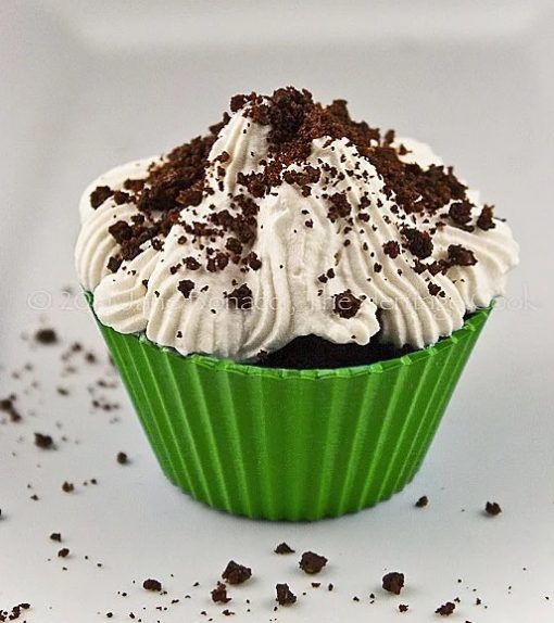 Irish Whiskey Chocolate Cupcakes