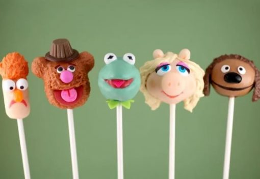 The Muppets Cake Pops