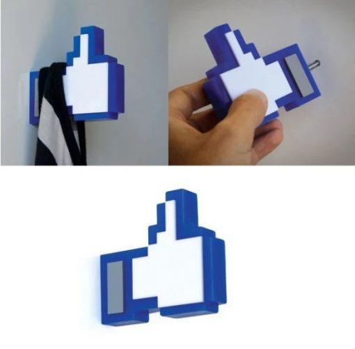 "Facebook ""like"" icon Coat Hanger"