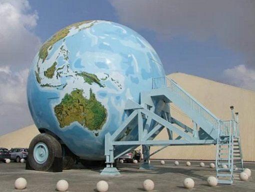 Replica World Sphere Caravan