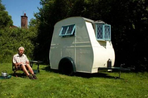 Vintage Single Berth Caravan