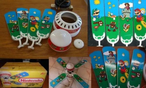 Super Mario Bros Ceiling Fan