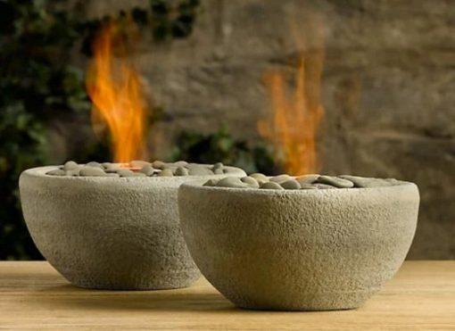 River Rock Fire Bowl