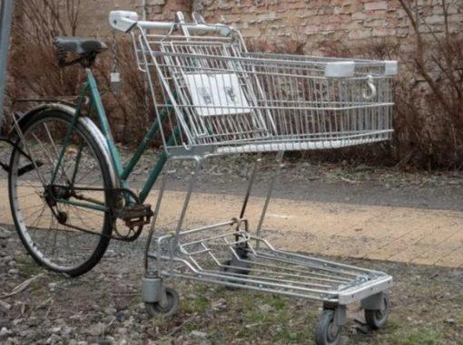 Shopping Trolley bike