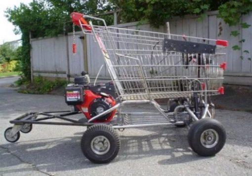 Shopping Trolley Go Kart