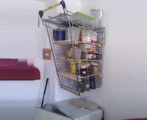 Shopping Trolley Shelves