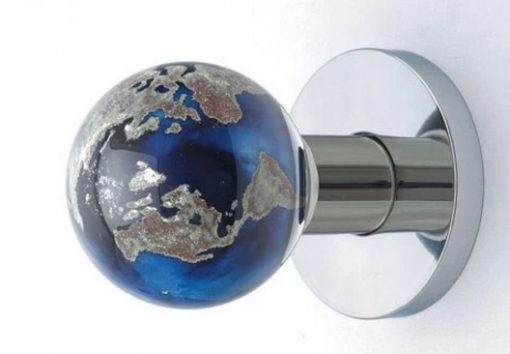 World Globe Door Knob