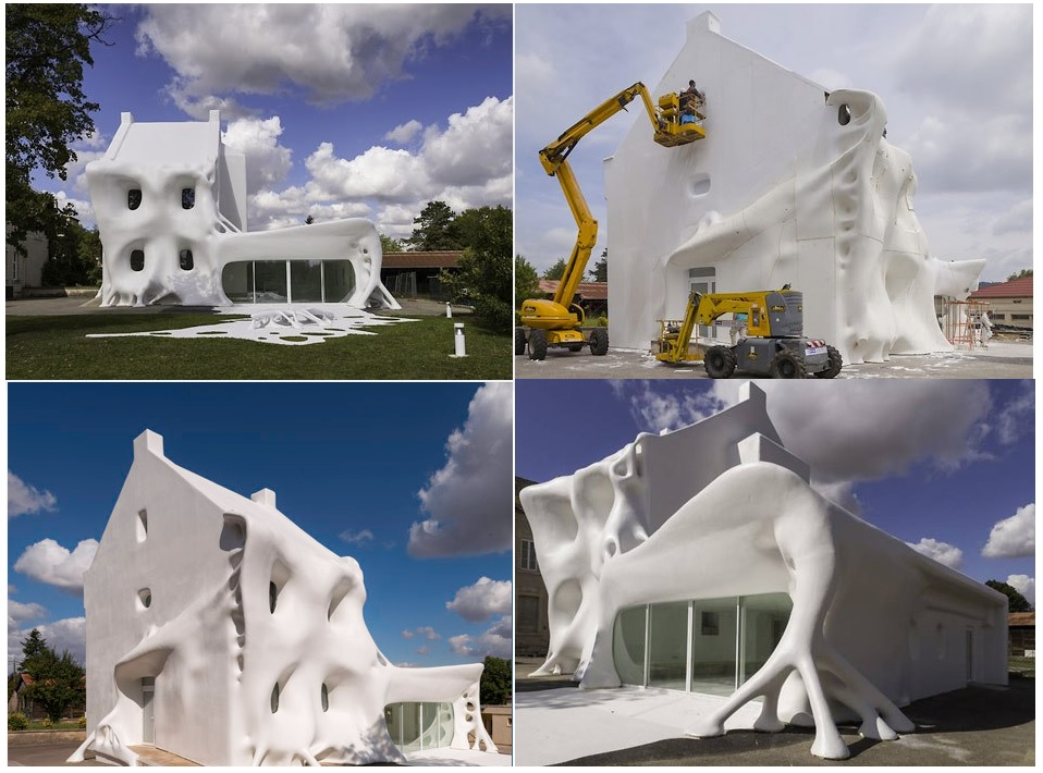 Top 10 images of houses covered in something for Most amazing houses