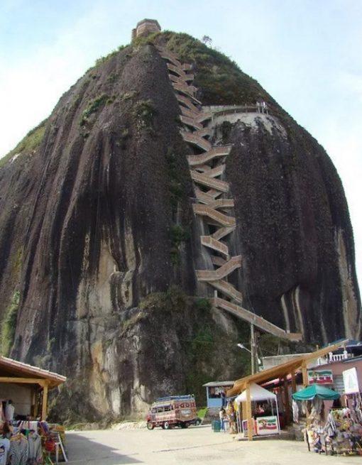 Staircase in Guatapé Antioquia