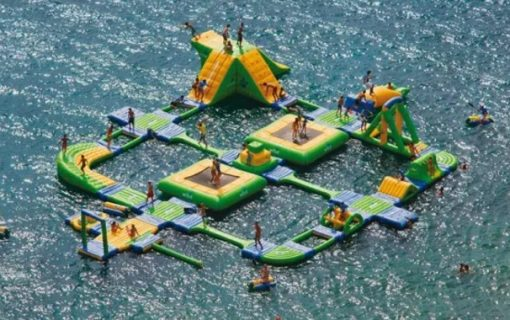 Amazing Inflatable Water Park