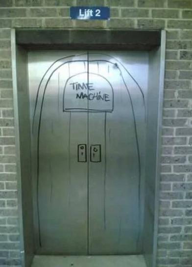 This Time Machine Seems Legit!