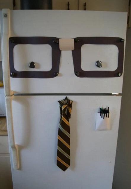 Nerd Style Fridge/Refrigerator