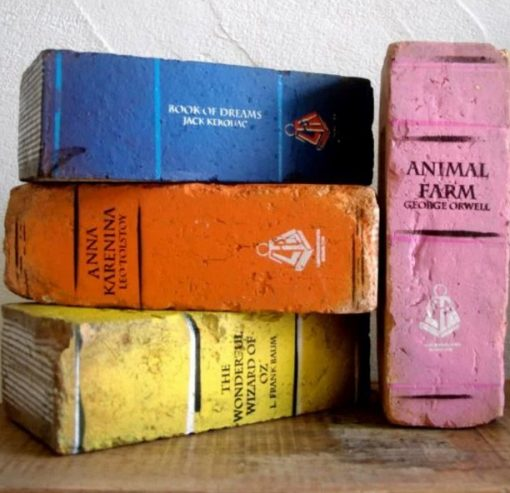 Book Inspired bookends
