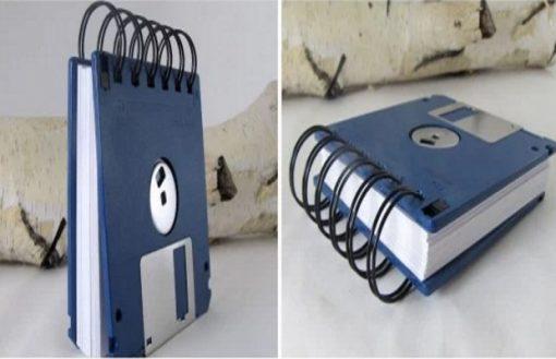 Floppy Disk Notebook