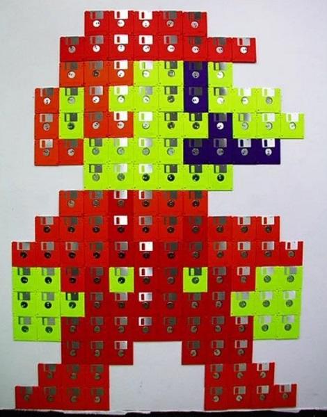 Mario Wall Art