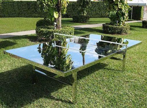 Mirror table tennis game