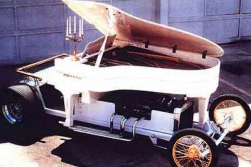 Piano Turned into car