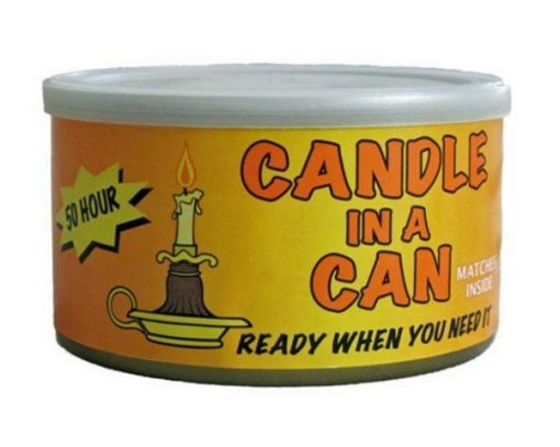 Candle in a can