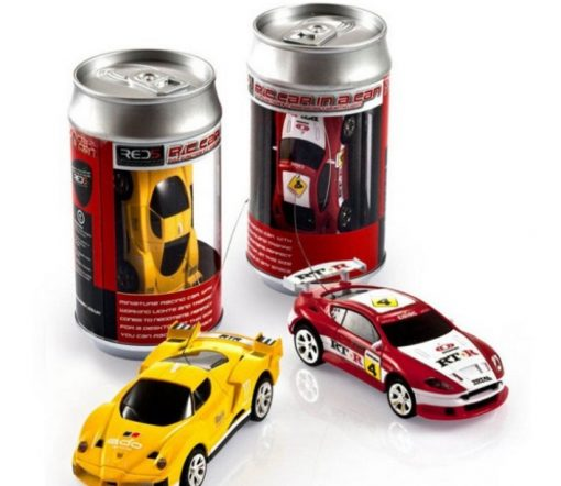 Remote Control RC Car in a Can
