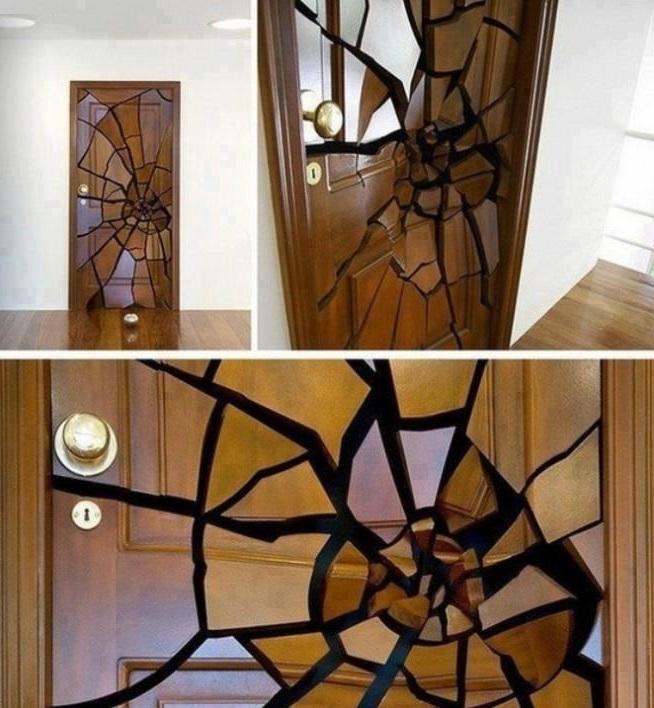 Top 10 strange and unusual doors for Door design painting