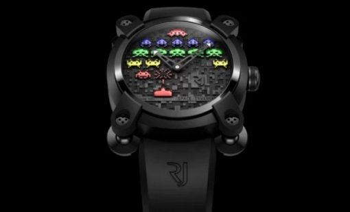Space Invaders watch