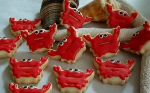 Mini Crab Cookies
