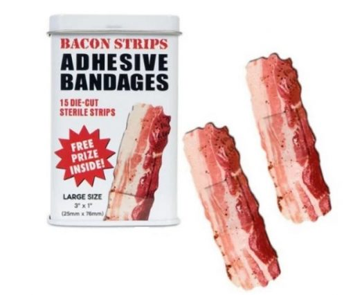 Bacon inspired plasters