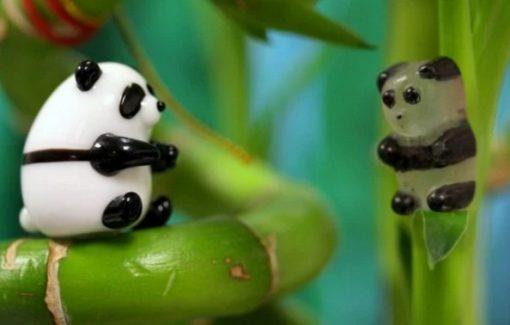 Panda Inspired gummy bears