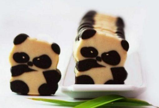 Panda Inspired Cookies