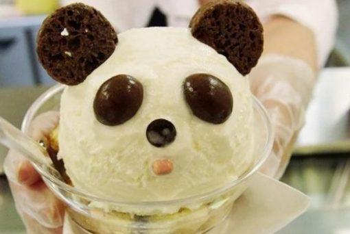 Panda Inspired Ice-Cream