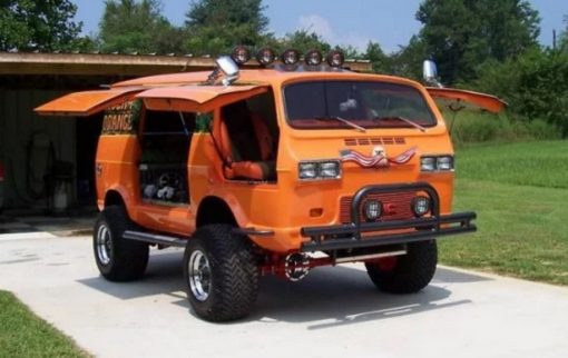 Modified GMC Van
