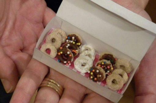 Mini Cheerio Donuts