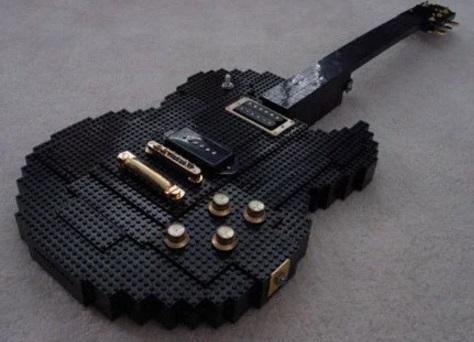 Lego Custom Made Guitar