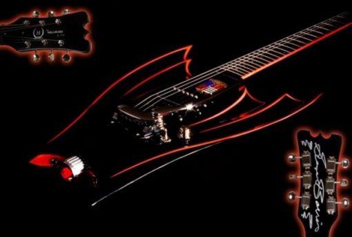 70's Batman Car Custom Made Guitar