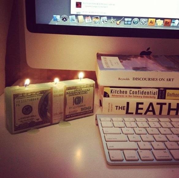 Money Candle