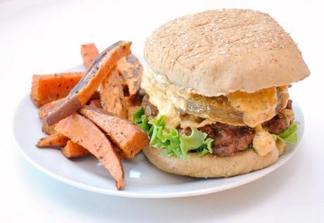 Shrimp Burgers with Remoulade Sauce