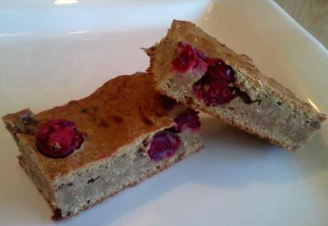 Liver & Cranberry Brownies Homemade Dog Treats