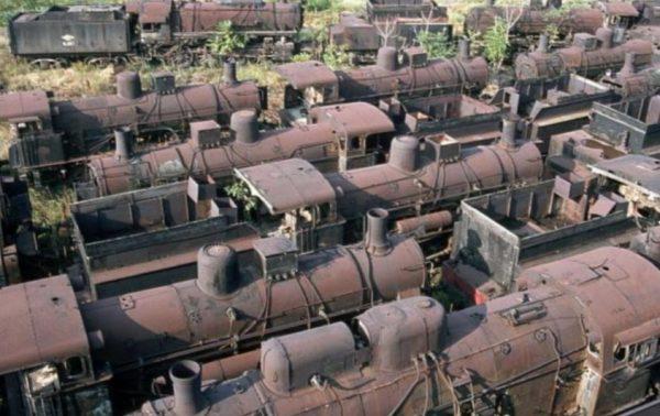 Graveyard of Trains