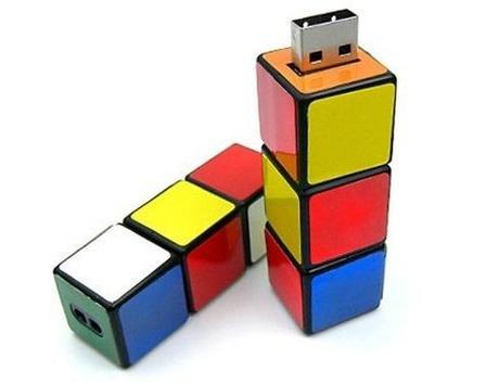 Rubik's Cube Inspired memory stick/drive