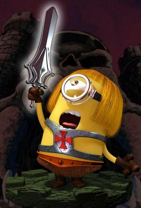 Minions Redesigned as He-Man