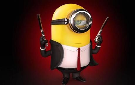 Minions Redesigned as The Hit Man