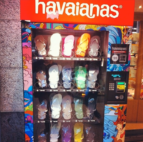 Flip Flop Vending Machine