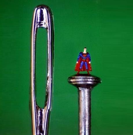 Miniature Sculpture: Superman