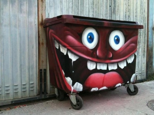 Top 10 Best Art Attacked Dumpsters