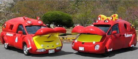 Hippo themed vehicles