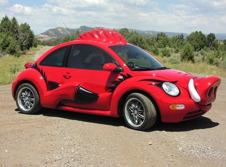 Warthog themed vehicle