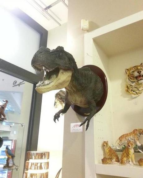 Wall Mounted T-Rex