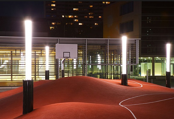 Top 10 unusual and amazing basketball courts for How to build your own basketball court