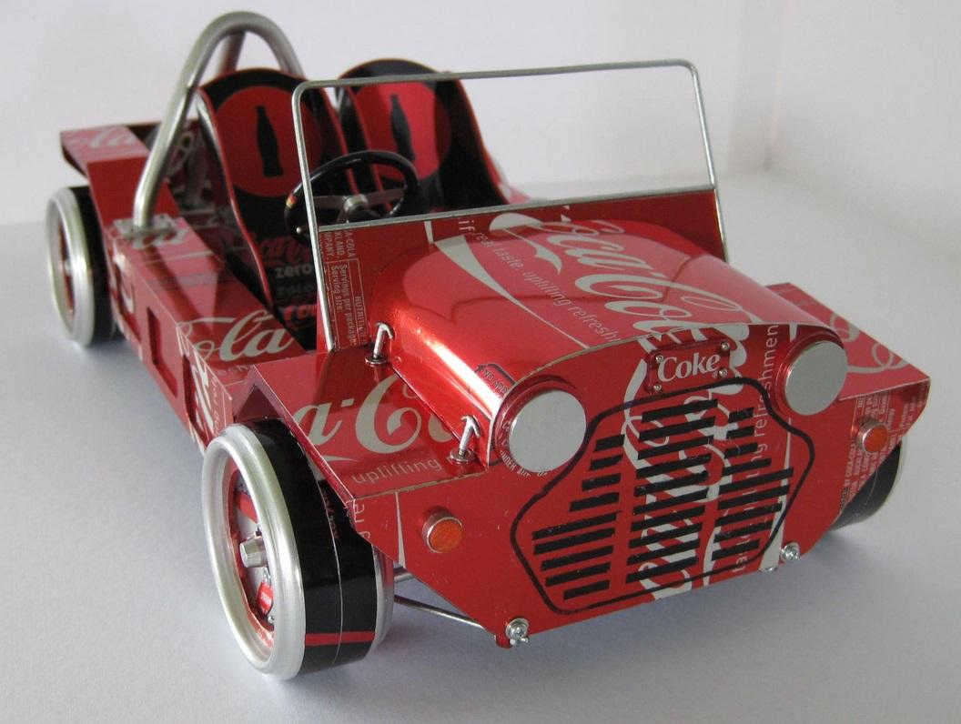 Как сделать миниатюрный автомобиль